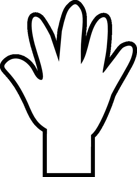 Free Handprint Clipart - ClipArt Best