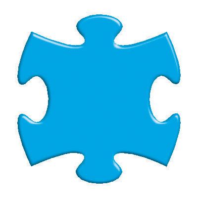 Puzzle Clipart Autistic  Autism Awareness Puzzle Piece