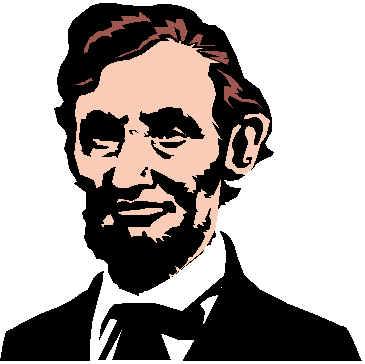 Abraham Lincoln Clipart Abe lincoln clip art