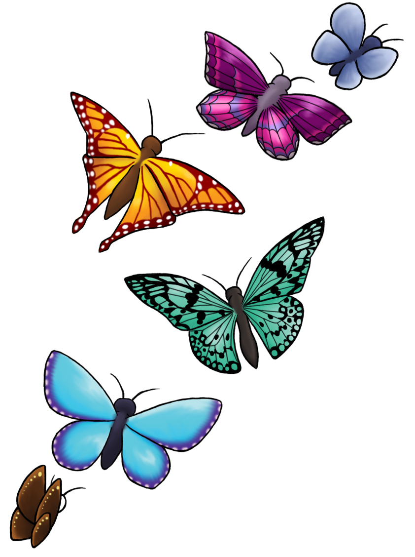 Butterfly Design Images Clipart Best