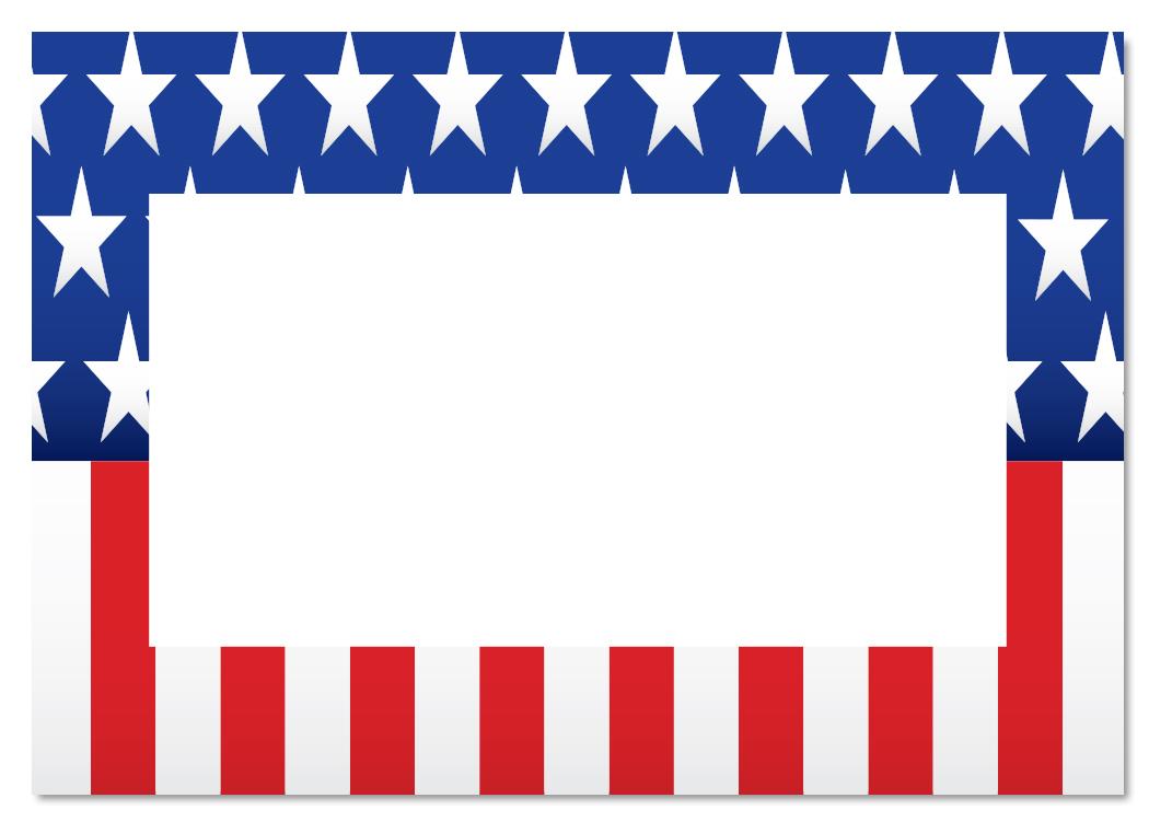 American Flag Border Clip Art American flag borderVintage American Flag Border Clip Art