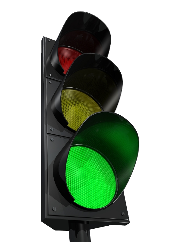 clipart traffic light green - photo #42