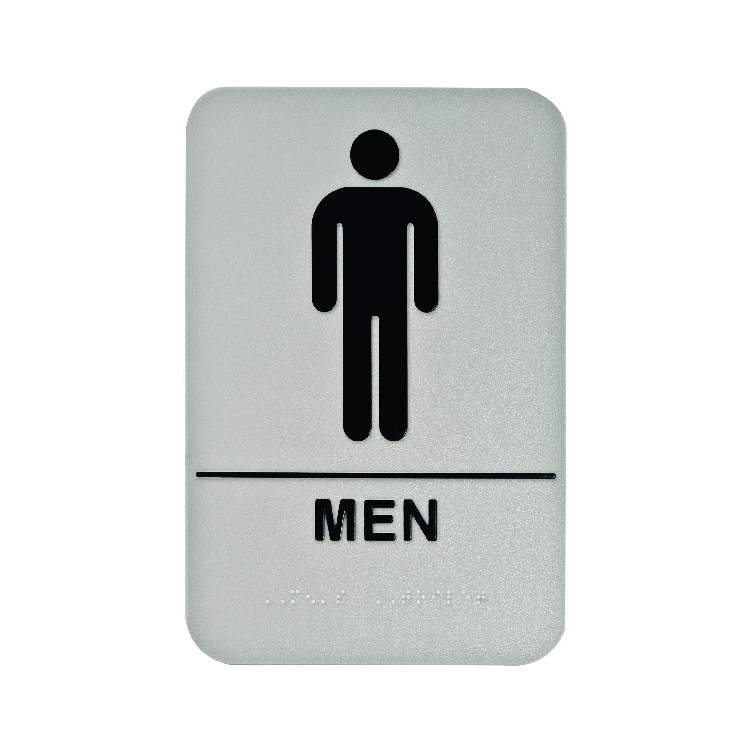 Mens Restroom Sign Printable Viewing Gallery