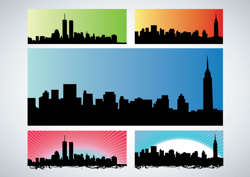new york city clipart skyline - photo #50