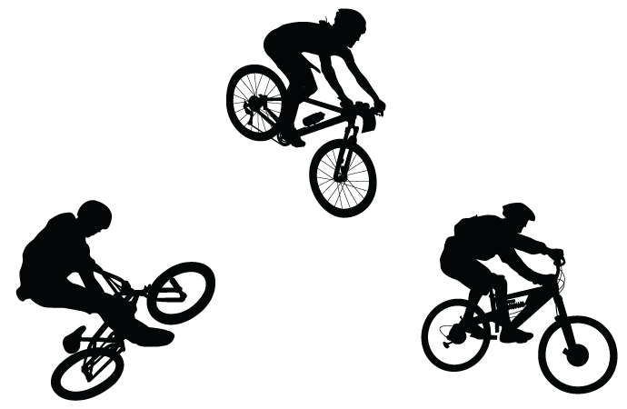 Bicycle Silhouette Free