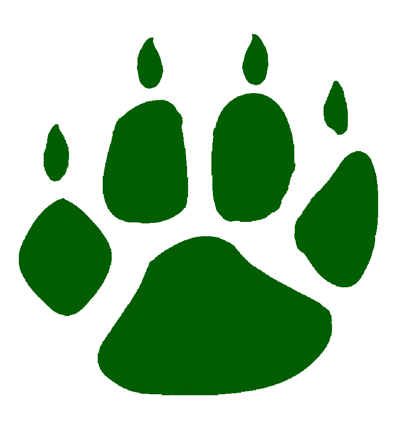 green paw print clipart best paw print clip art transparent background paw print clip art free download