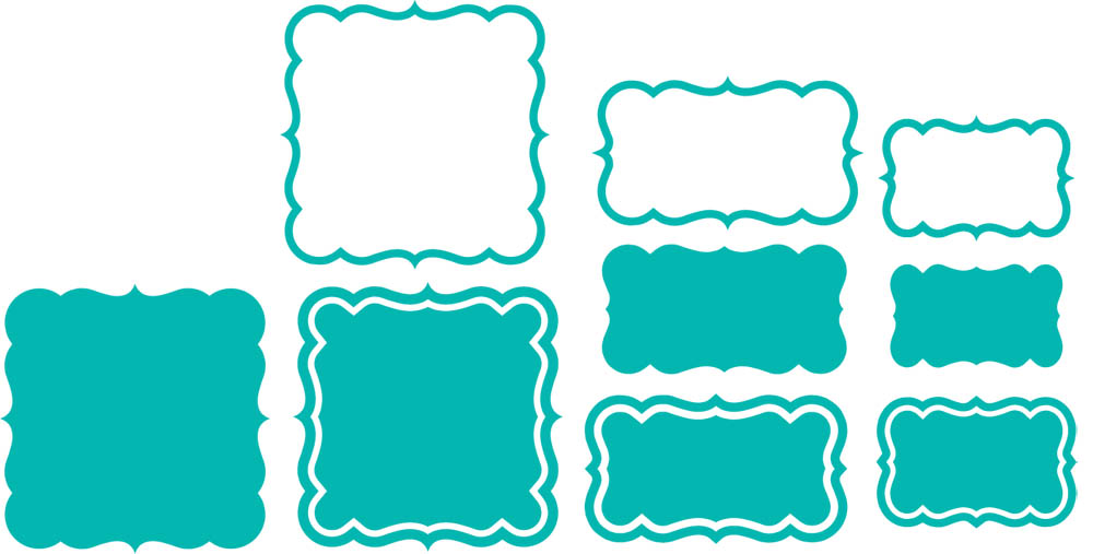 Burton Avenue: Freebie Friday - Shapes and Borders