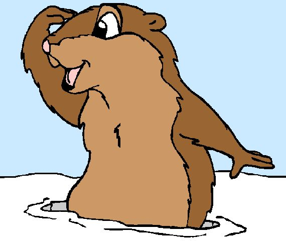 Cartoon Pictures Of Groundhogs Clipart Best