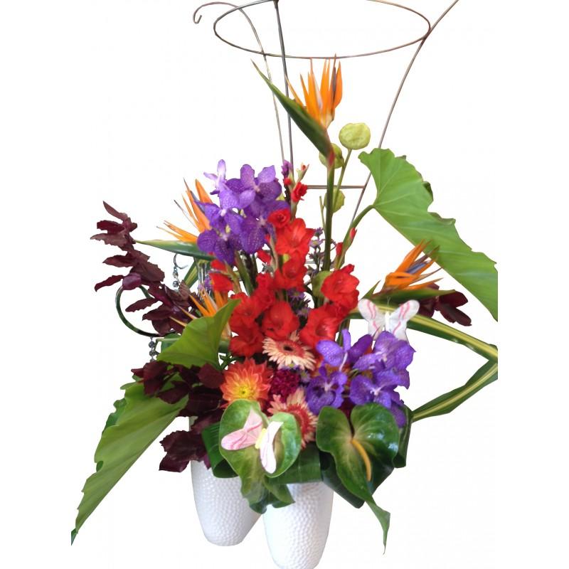 Clipart Flower Baskets : Flowers baskets clipart best