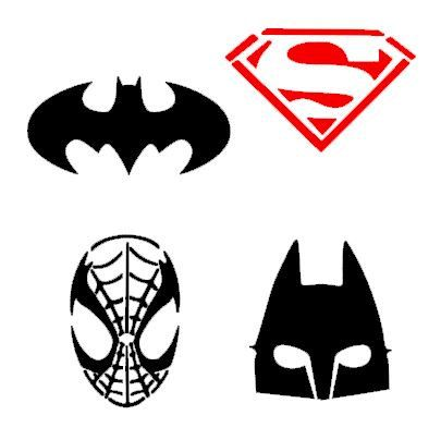 Spider Stencil For Face Painting - ClipArt Best