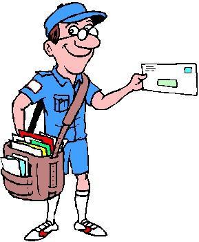 Clip Art Mailman Clipart postman clipart best best
