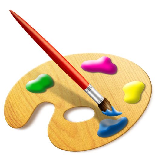 Paint Brushes With Paint On Them - Free Clipart Images