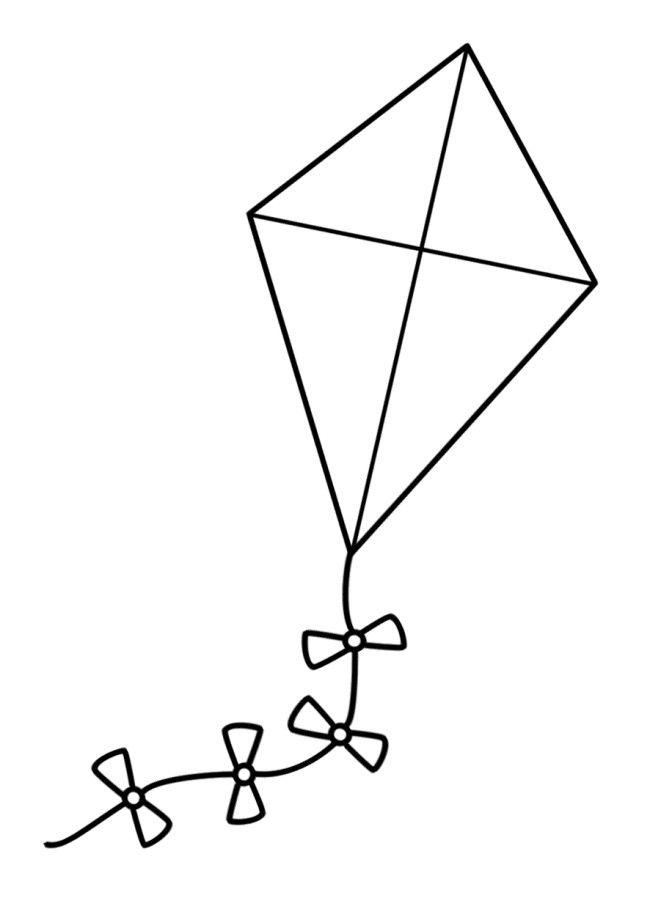 paper kites template clipart best. Black Bedroom Furniture Sets. Home Design Ideas