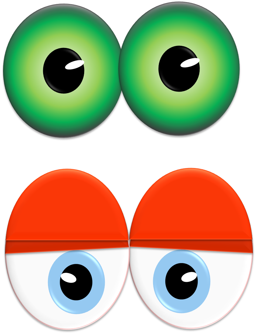 Cartoon Scary Eye Ball - ClipArt Best