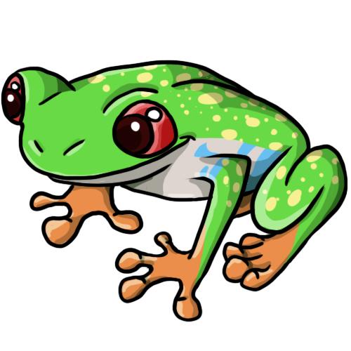 Tree Frog Cartoon - ClipArt Best
