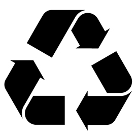 Persnickety image intended for printable recycle symbol