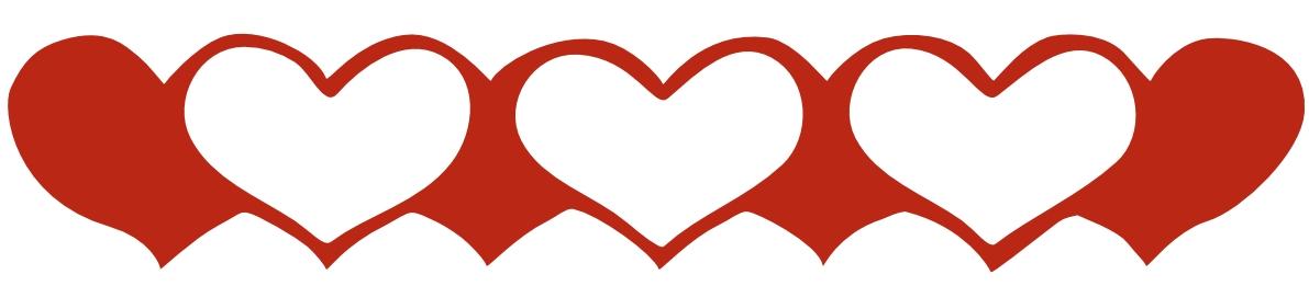 Free Heart Borders - ClipArt Best