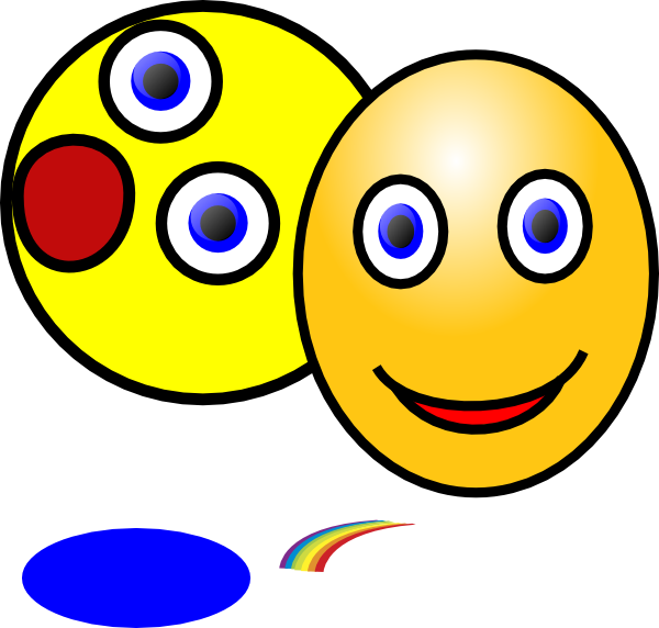 Showing Different Emotions clip art - vector clip art online ...