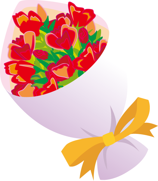 free clipart bouquet of flowers - photo #26