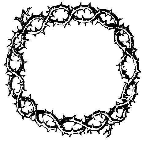 Crown Of Thorns Clip Art - ClipArt Best