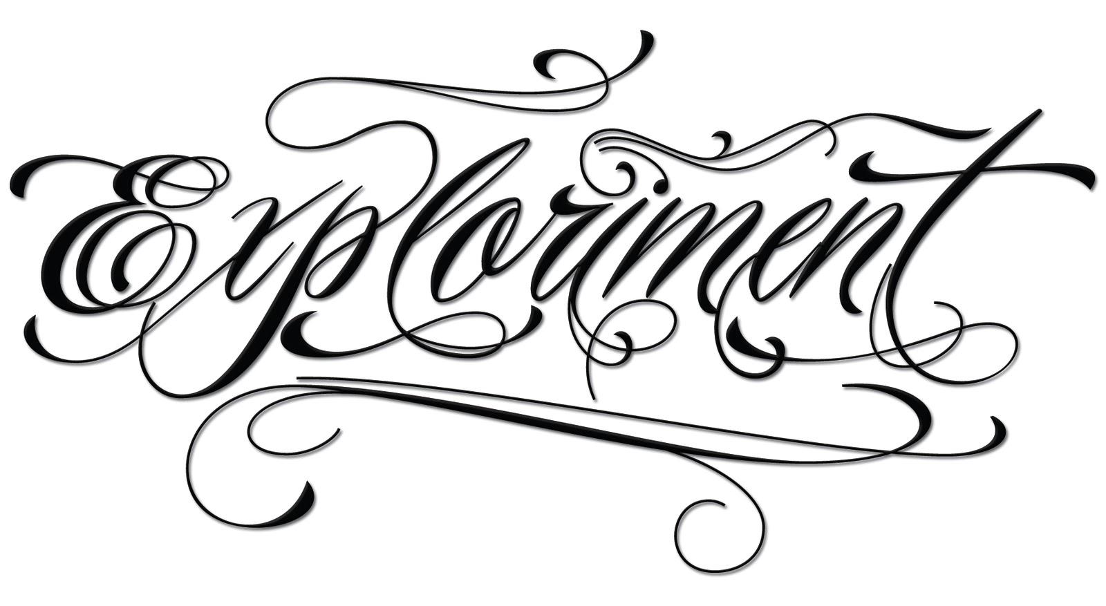 tattoo letter generator skin arts