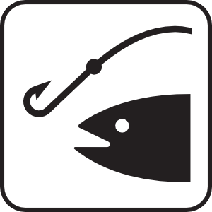 Clip art fish hook