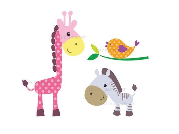 Baby Zoo Animals - ClipArt Best