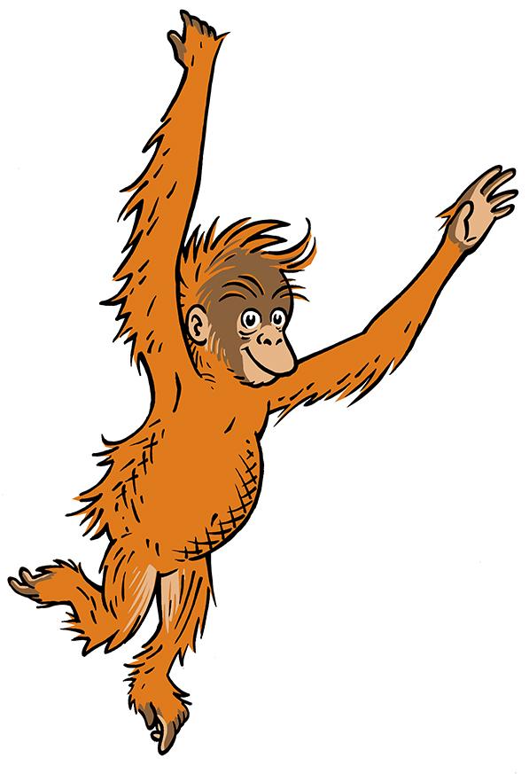 orangutan clipart clipart best Baby Orangutan Clip Art Baby Orangutan Clip Art