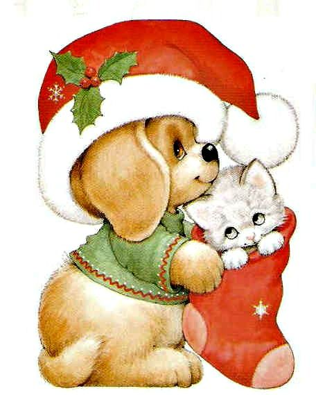 93 Best Images About Christmas Story On Pinterest: Christmas Animal Clip Art