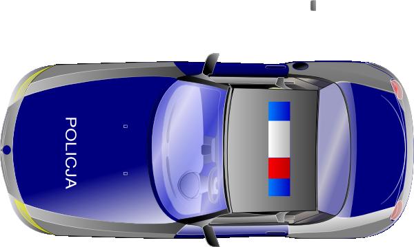 Police Car Top View Clip Art Vector Clip Art Online
