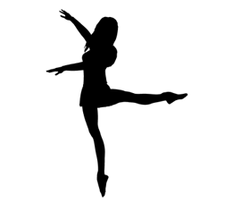 Silhouette Of A Dancer - ClipArt Best