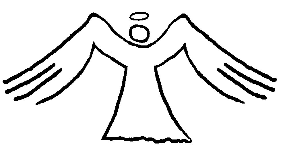 free angel wings with halo clip art - photo #27