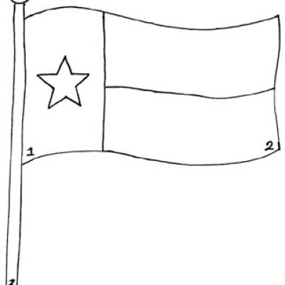 free texas flag coloring pages - photo#21