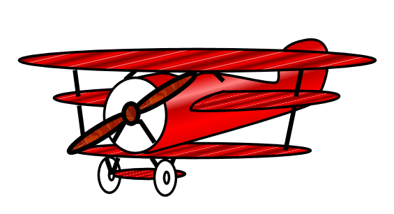 cartoon airplane clipart - photo #48