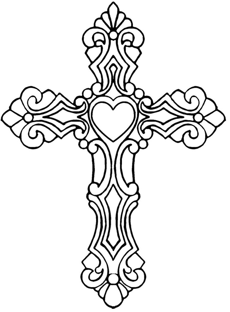 Free Coloring Pages Of Celtic Cross Coloring Pages Of Crosses