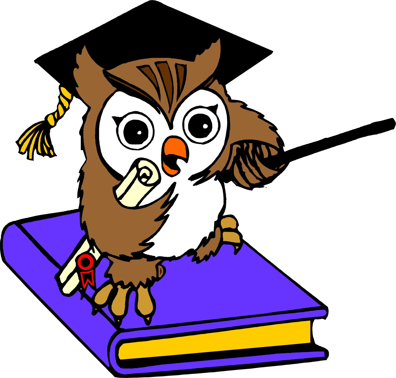 Owl Clip Art For Teachers - ClipArt Best