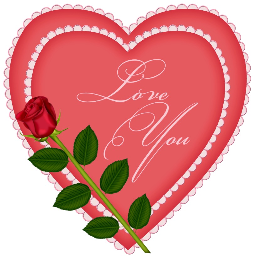 A Heart With Rose ClipArt Best