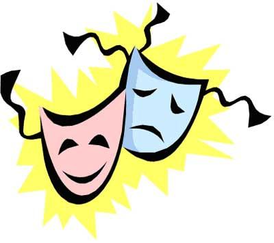 Acting Clip Art Drama mask clip art