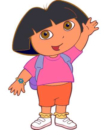 Dora the Explorer > Nickjr > Cartoon Character Clipart Picture Image