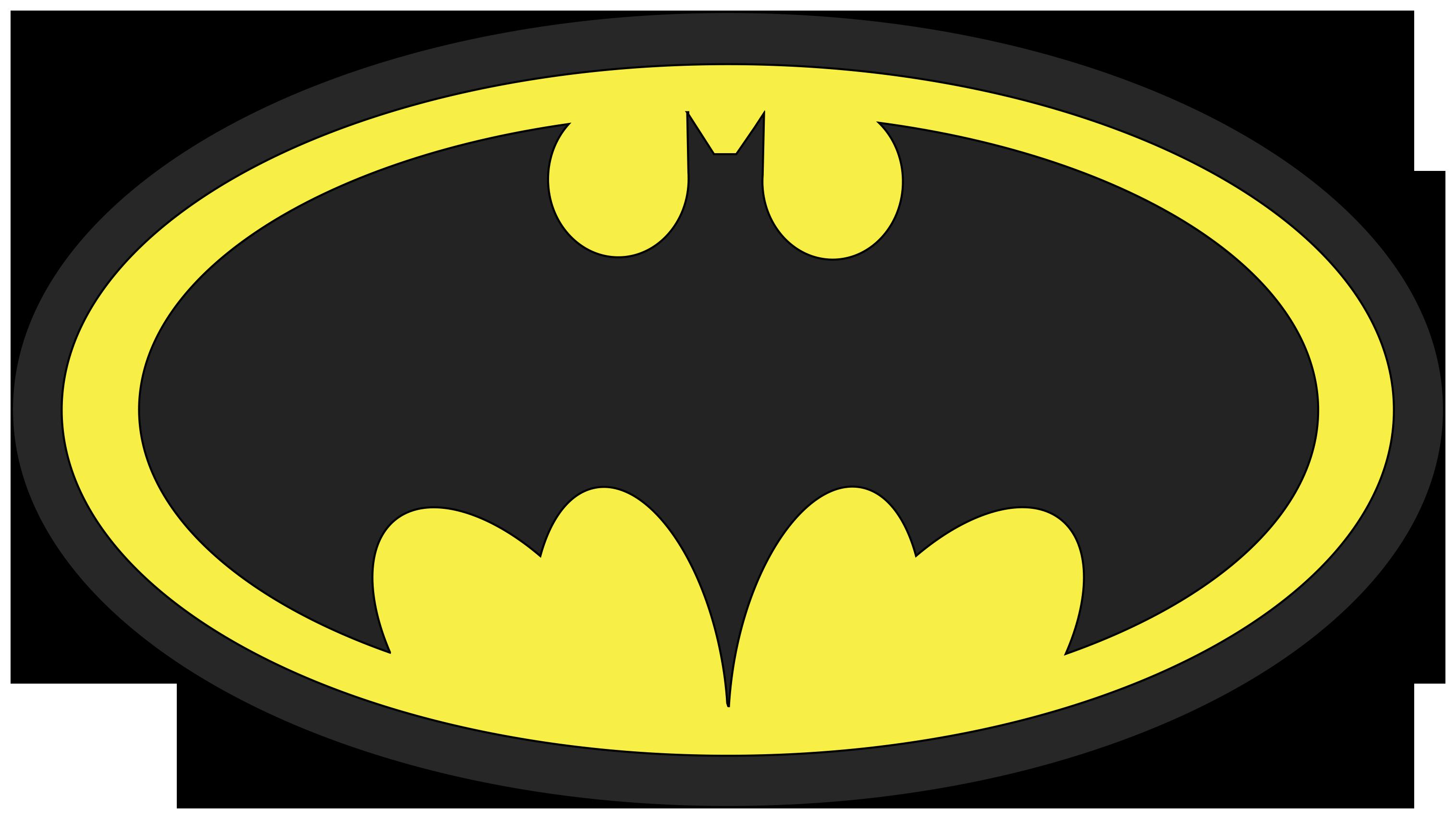 batman logo clip art template - photo #16