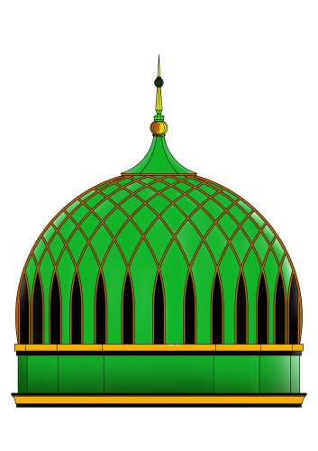 Kubah Masjid Vector - ClipArt Best