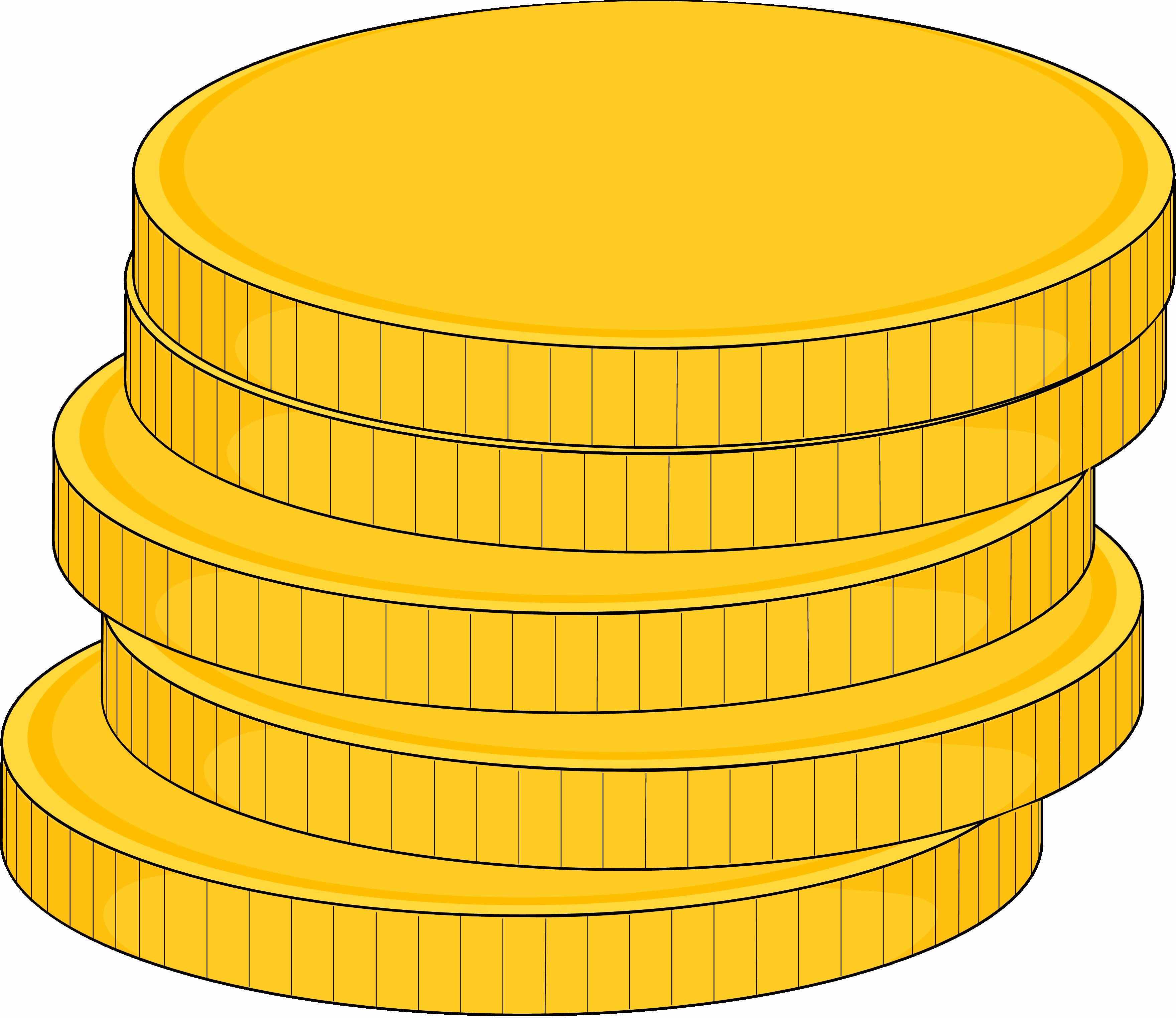 cartoon gold coins clipart best clip art coins and money clipart construction