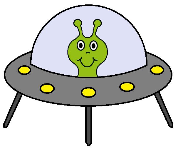 cartoon ufo clipart - photo #9