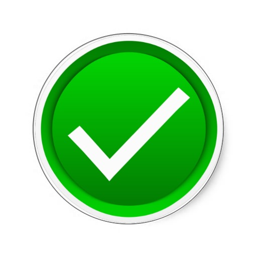Check Mark Green - ClipArt Best