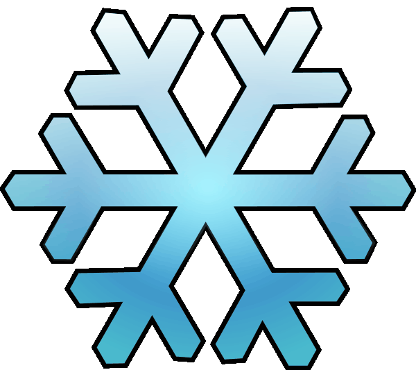 Clip Art Snow Flake - ClipArt Best