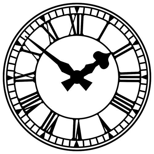 funny clock clipart - photo #46