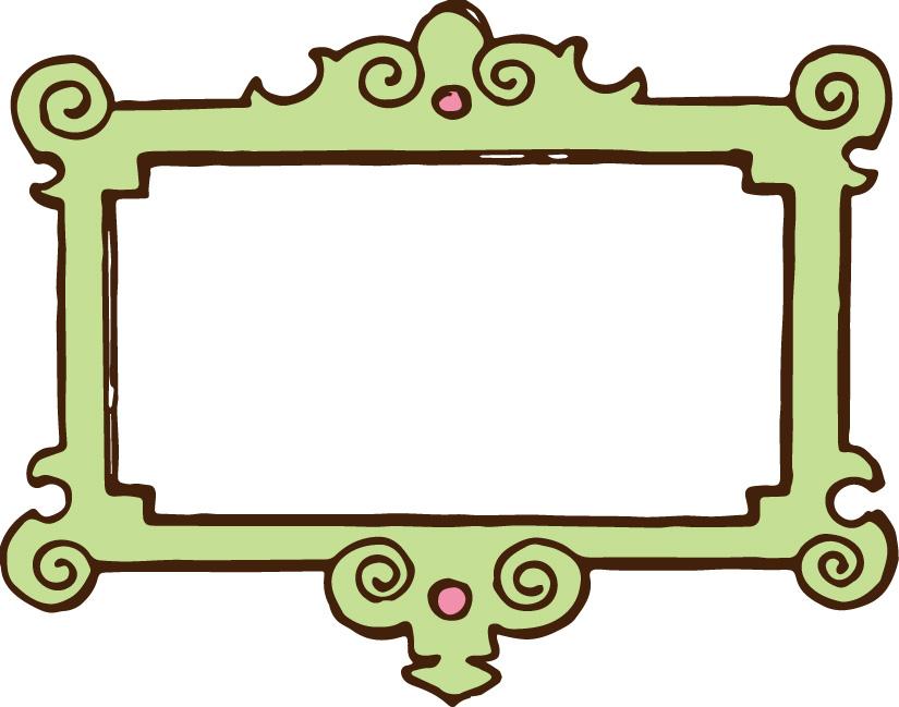Baroque Frames Clipart Clip Art Vintage Frames By Pinkpueblo 2015 ...