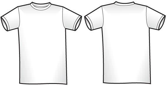 Tshirt Illustrator Template - ClipArt Best
