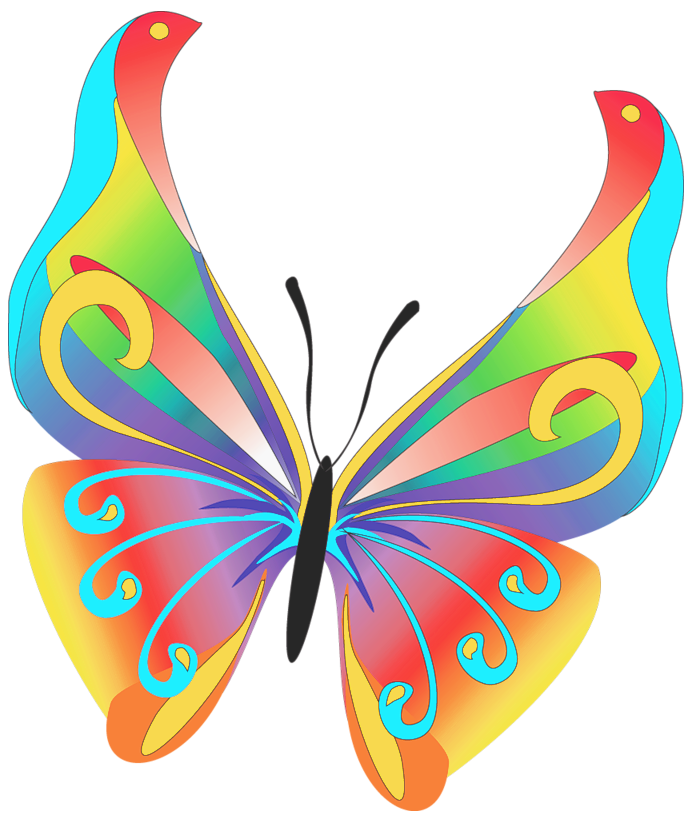 free printable butterfly clip art - photo #15