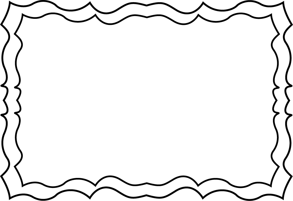 Border Clip Art Black And White - Free Clipart Images